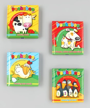 Peek-A-Boo Board Book Set 2