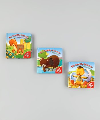 My Cuddly Friends Touch & Feel Board Book Set
