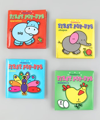 First Pop-Ups Board Book Set