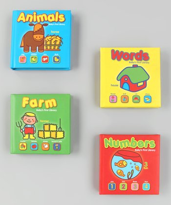 Baby's First Library Board Book Set 1