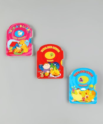 Turn & Learn Board Book Set 2