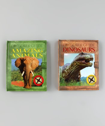 Explorer Guides Amazing Animals & Dinosaurs Board Books