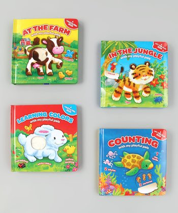 My Playful Pals Board Book Set