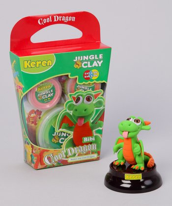 Bibi Shiny Eyes Cool Dragon Clay Kit
