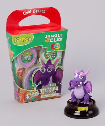 Fifi Shiny Eyes Cool Dragon Clay Kit