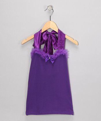 Violet Halter Top - Toddler & Girls