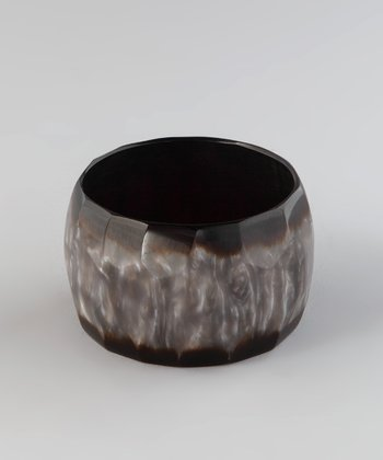Grey & Brown Marbled Bangle