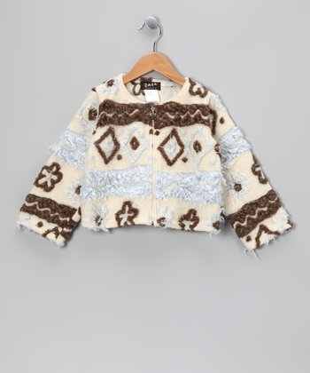 Cream Mademoiselle Fifi Jacket - Toddler & Girls