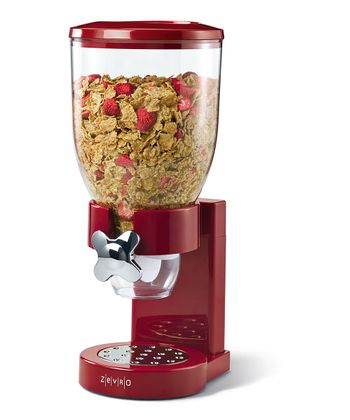 ZEVRO Red Dry Foods Single Dispenser