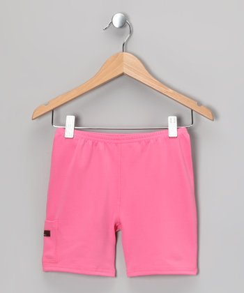 Pink Bubblegum Shorts - Infant, Toddler & Girls
