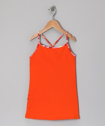 Orange Tunic - Infant, Toddler & Girls