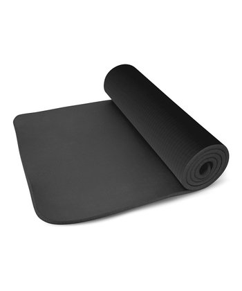 Black 0.5'' Exercise Mat
