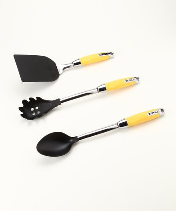 Zeroll Lemon Yellow Nylon Utensil Set