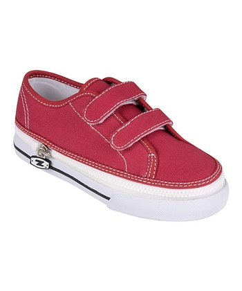 Zipz Shoes Cranberry Two-Strap Sneaker