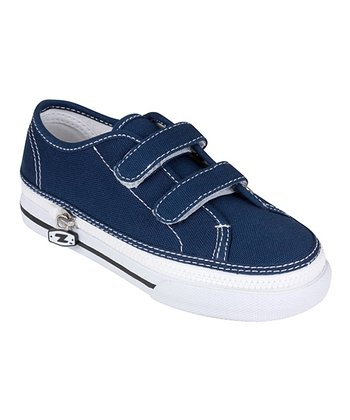 Zipz Shoes Denim Blue Two-Strap Sneaker