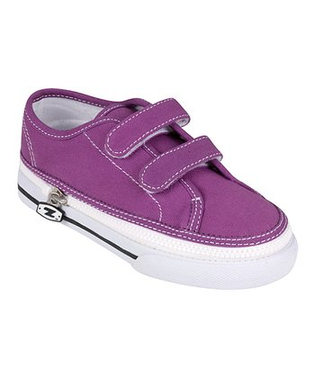 Grape Two-Strap Sneaker