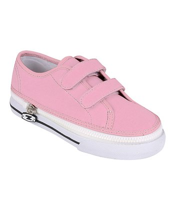 Zipz Shoes Punk Pink Two-Strap Sneaker