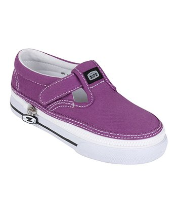 Zipz Shoes Grape T-Strap Sneaker