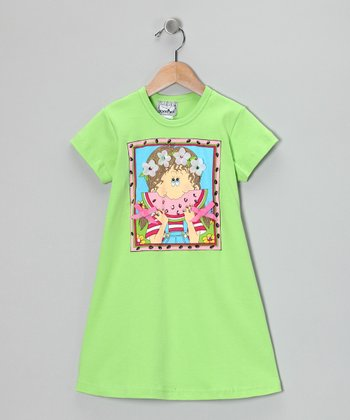 Green Watermelon Dress - Toddler & Girls