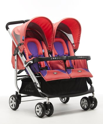 Canyon Red Tango Double Stroller