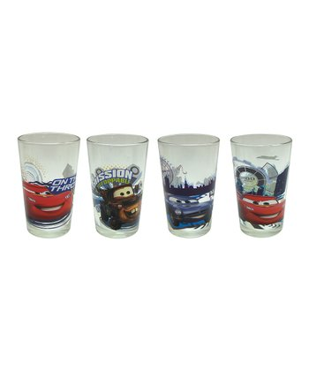 Cars 8-Oz. Juice Glasses - Set of Four