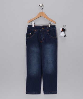 Medium Wash Blue Jeans - Infant, Toddler & Boys