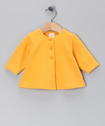 Tangerine Cozy Swing Cardigan