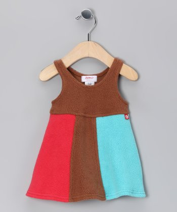 Chocolate Cozy Mod Dress