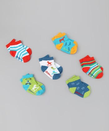 Wild West Ankle Socks Set