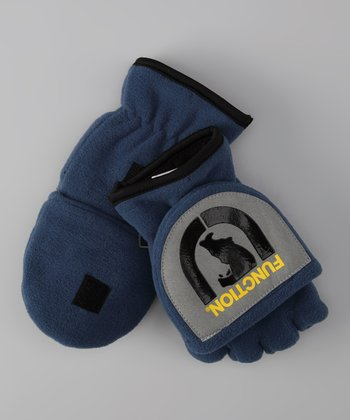 Ink 'Function' Fleece Convertible Mittens