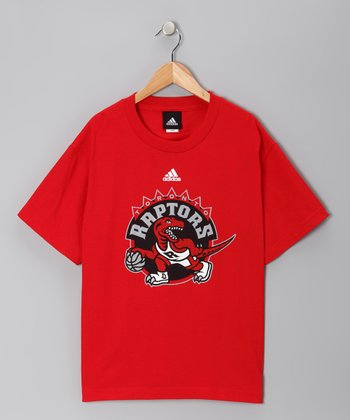Red Toronto Raptors Tee - Kids