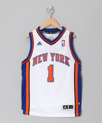 White New York Knicks Stoudemire Jersey - Kids