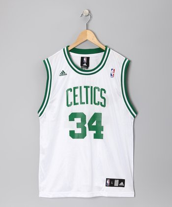 White Boston Celtics Pierce Replica Jersey - Kids