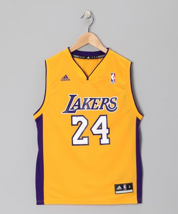 Yellow Los Angeles Lakers Bryant Jersey - Kids