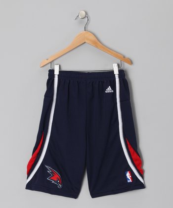 Blue Atlanta Hawks Swingman Shorts - Kids