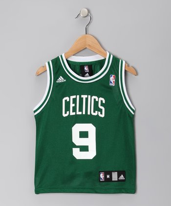 Green & White Boston Celtics Rondo Replica Jersey - Kids