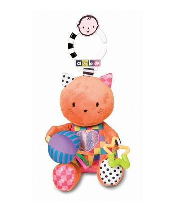 amazing baby Developmental Sound Kitty Plush Toy