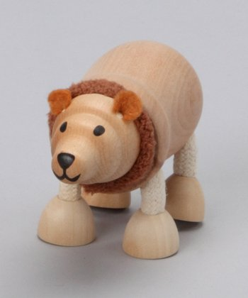 Brown Bear Wooden Toy