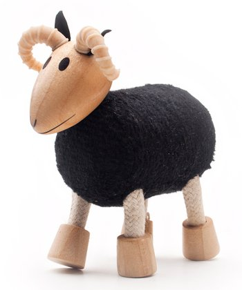 Black Ram Wooden Toy