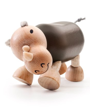 Rhino Wooden Toy