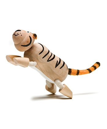 Tiger Wooden Toy