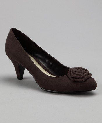Dark Taupe Beautiful Pump