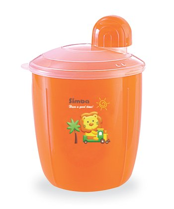 Orange Snack Dispenser Cup