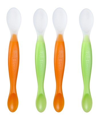 Orange & Green Dual-Sided Spoon Set