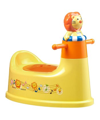 Orange Simba Musical Potty