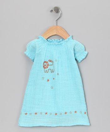 Blue Lion Organic Dress - Infant