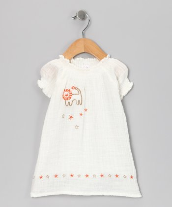 White Lion Organic Dress - Infant
