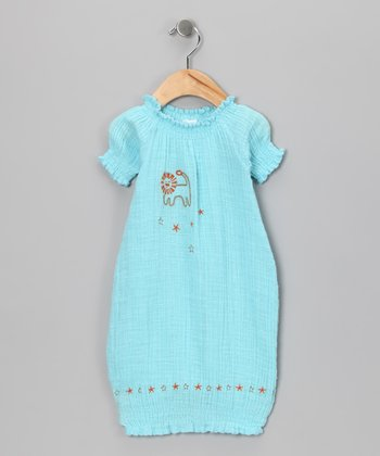 Blue Lion Organic Gown - Infant