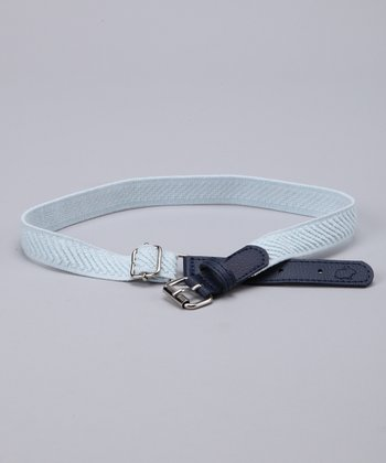 Light Blue Adjustable Belt
