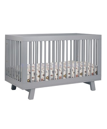 Gray Hudson Convertible Crib & Toddler Rail